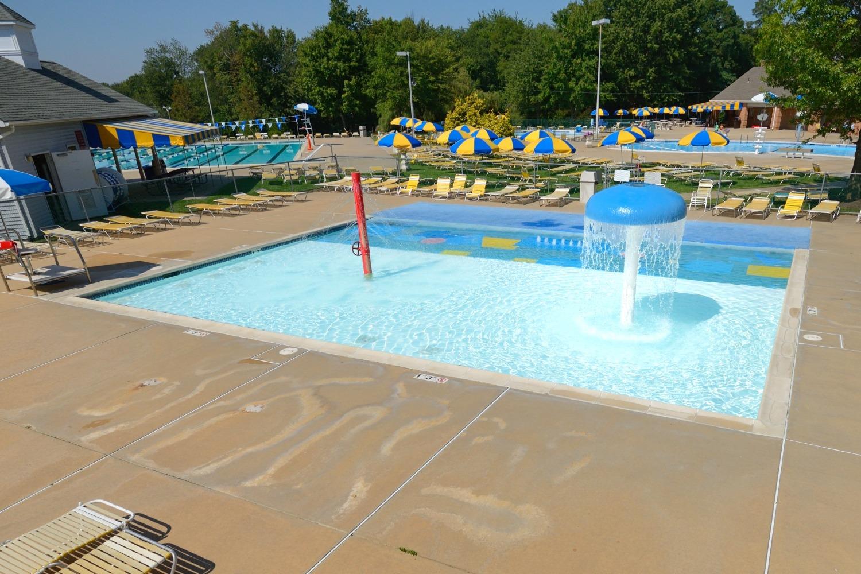 pool splash. larchmont splash pool 1